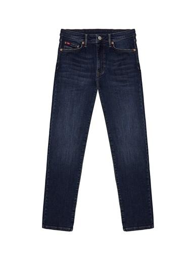 Lee Cooper Lee Cooper Erkek Lacivert Denim Pantolon Renksiz